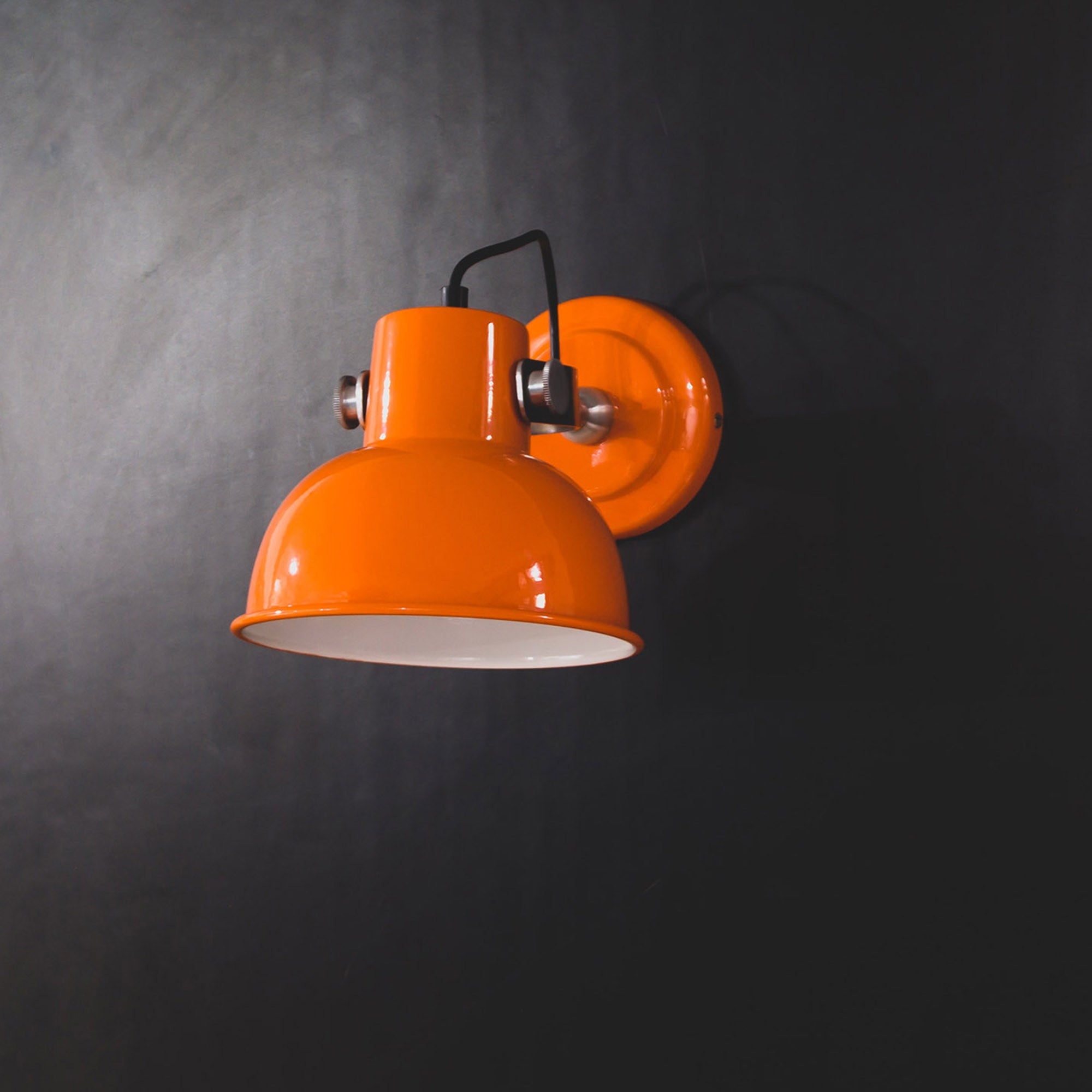 FSW210 Cantaloupe Orange Wall Sconce
