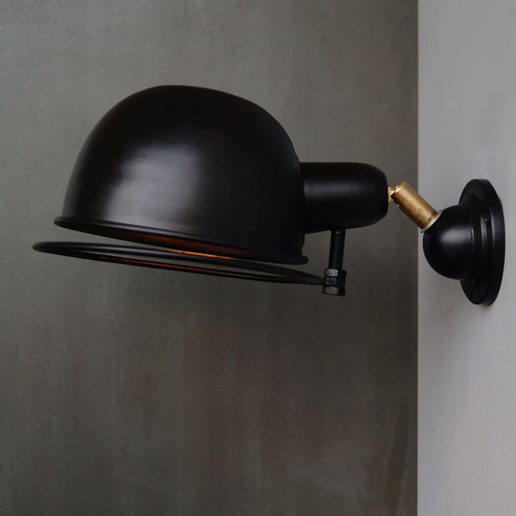 CWS111 Quebec Metal Wall Light Chic Scandinavian Interior Design