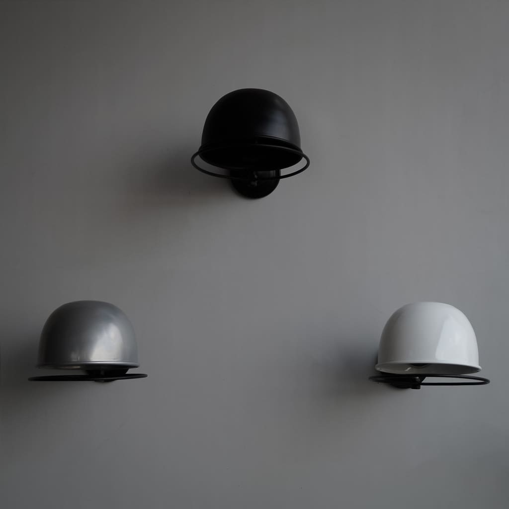Quebec Metal Wall Light Chic Scandinavian Interior Design - The Black Steel