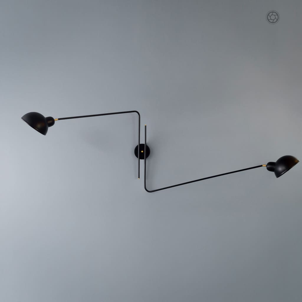 FSW213 Repertoire Black Wall Lamp