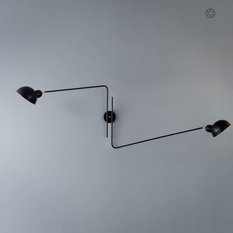 Repertoire Black Wall Lamp - The Black Steel