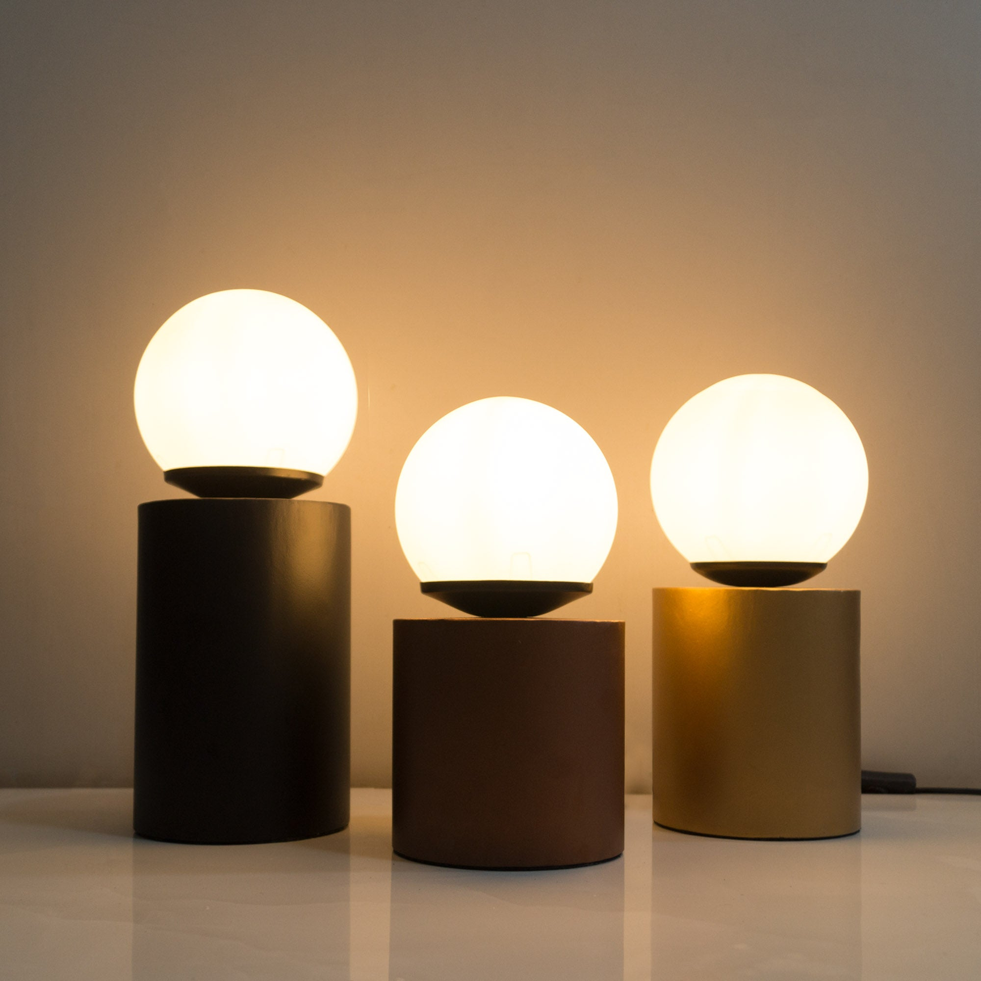 cylinder table lamps desk lights modern lamps online