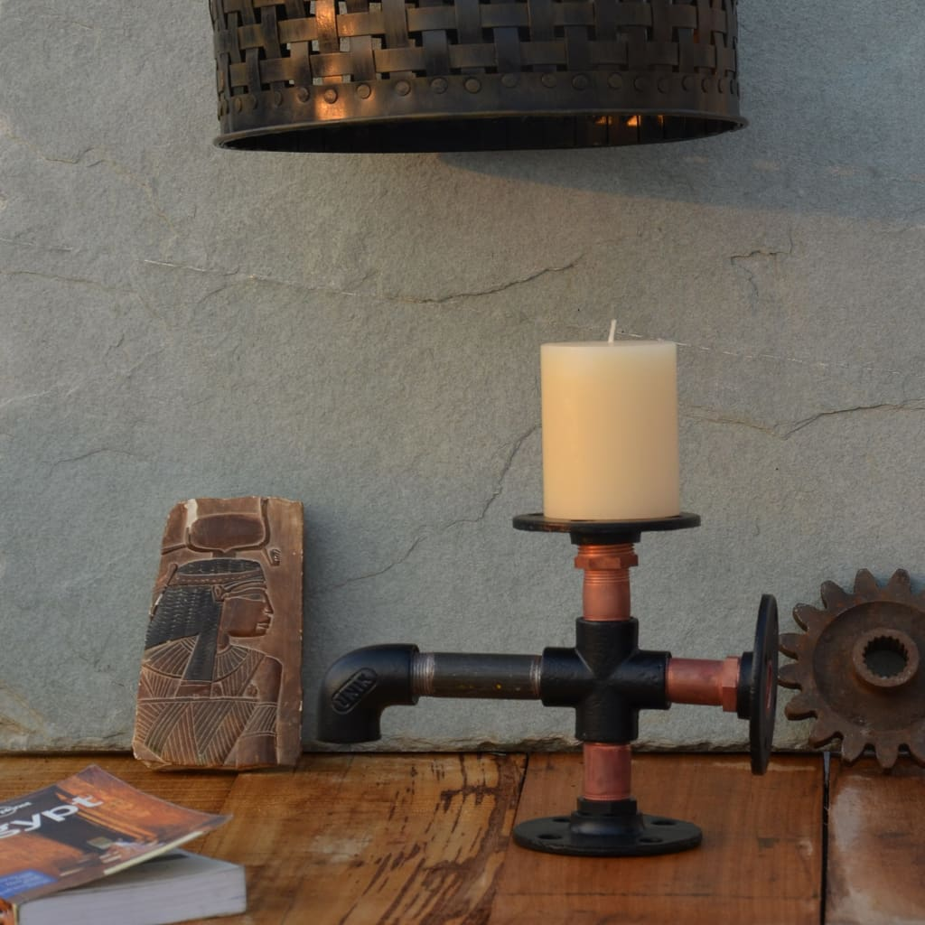 The Color Switch - Candle Holder - The Black Steel
