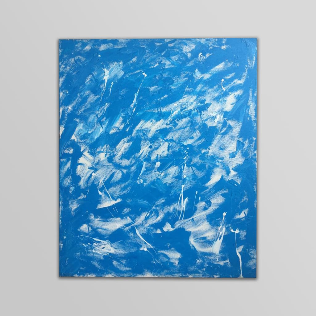 The Ocean - Abstract Wall Art