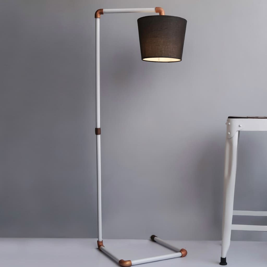 Jazz Steampunk Pipe Design Industrial Floor Lamp