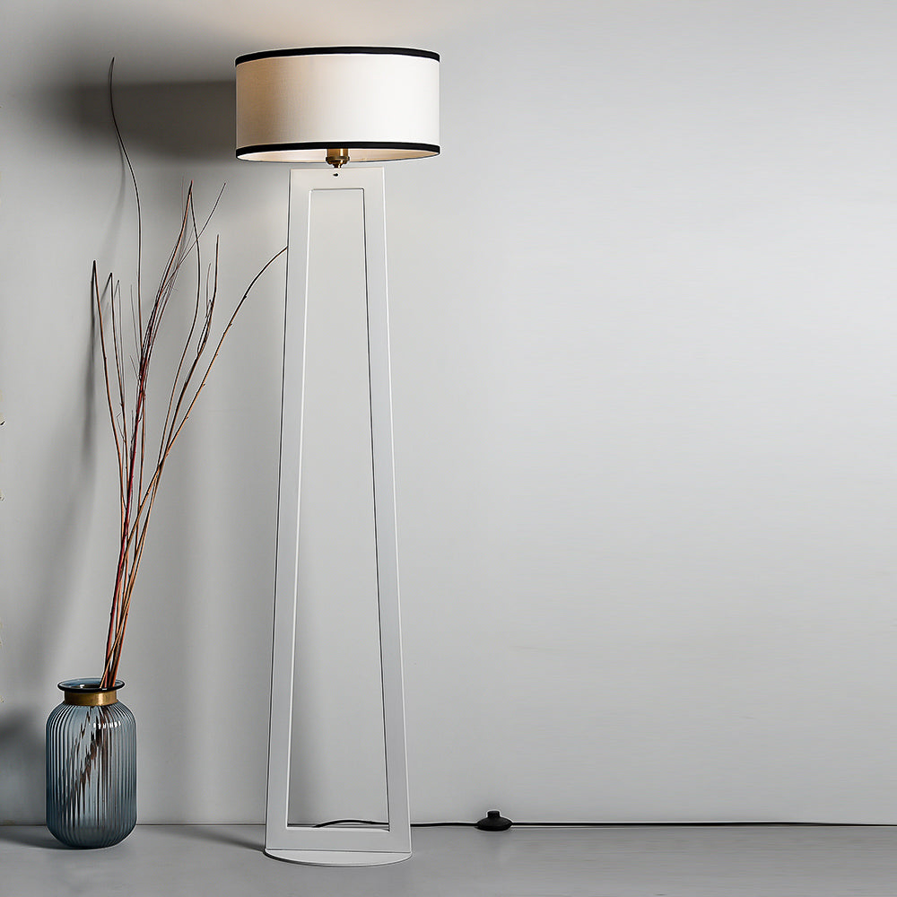 CLF104 Minimalist White Floor Lamp
