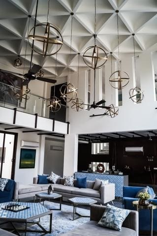 industrial pendant light living room