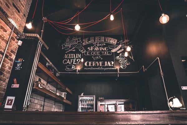 Luxuriate In Stunning Industrial Light Fixtures For Coffee Shop!