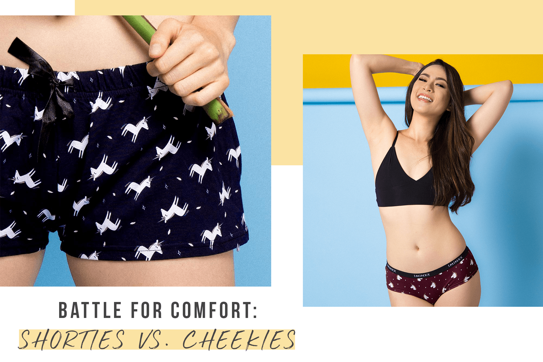 Battle for Comfort: Shorties vs. Cheekies