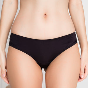 Double Trouble Sexy-Comfy Bikini Cheeky in Black