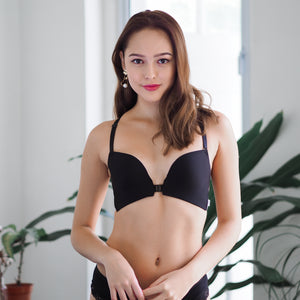 Sexy Summer Front Clasps Wireless Push Up Bra