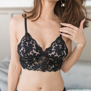 Wild Love Midi Bralette in Twilight (Size S & M only)