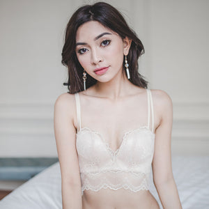 *RESTOCKED* Ethereal Beauty Super Push Up Midi Bra in Pear Sorbet
