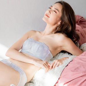 Sexy-Comfy Combo Multiway Wireless Strapless Bra in White