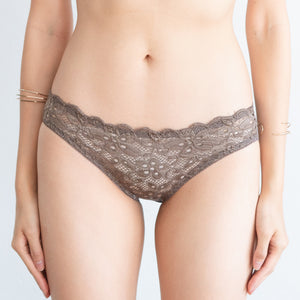 Tangle in Lace! Comfy Cheeky in Toasted Almond