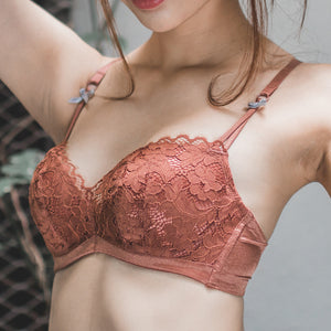 Love & Cocoa Super Push Up Bra in Terracotta (Size M & L ONLY)