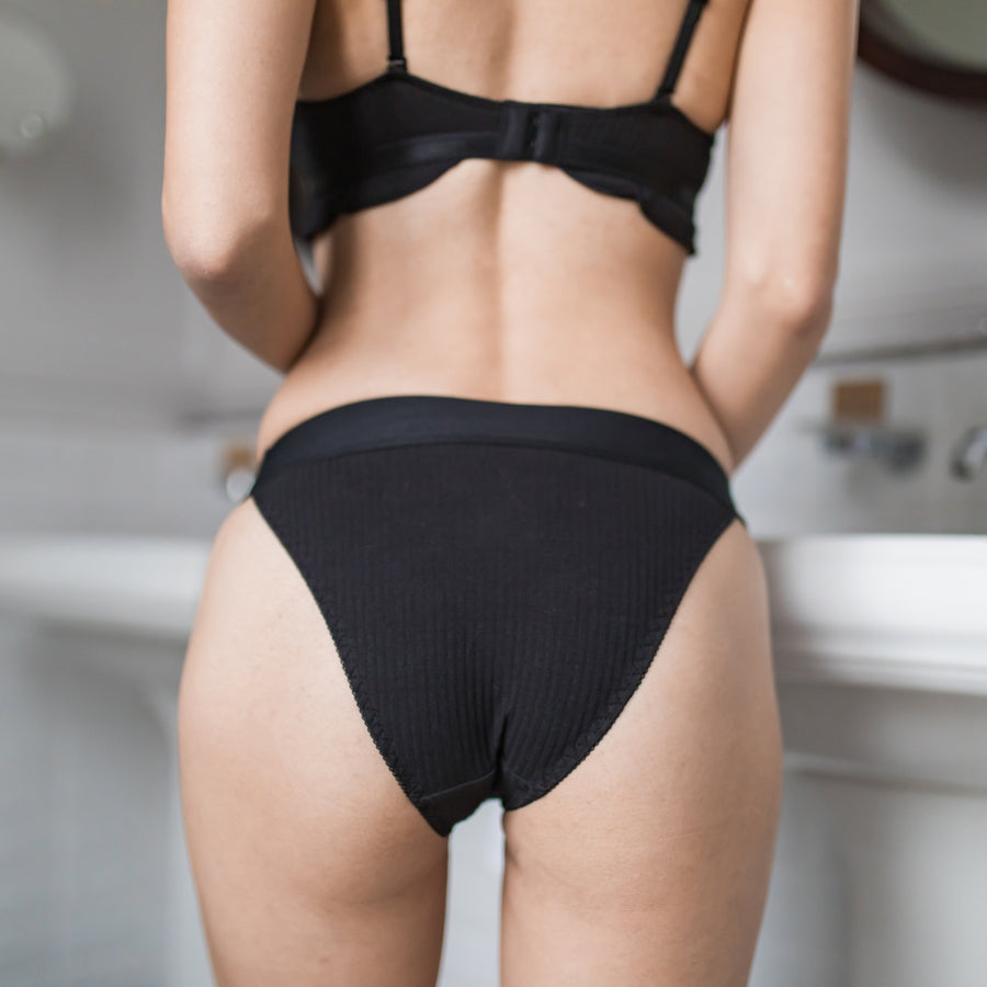 Sweet Crush Lace Cheeky in Black