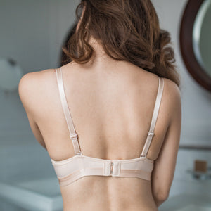 Total Comfort Everyday Wireless Push Up Bra in Nude