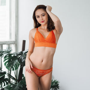 Boundless Love Bikini Cheeky in Terra Cotta