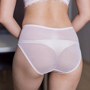 Go Glam Lacey Cheeky in Ivory Nude