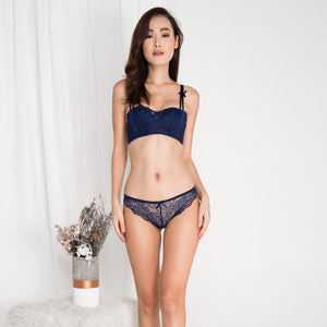 Sugar and Spice Push Up Bra in Midnight Blue