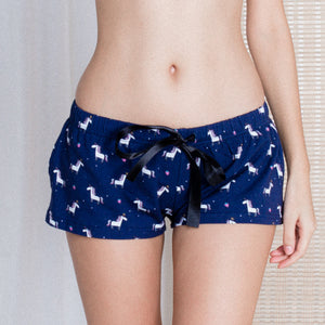 Berry Magical Unicorn Lounge Shorts