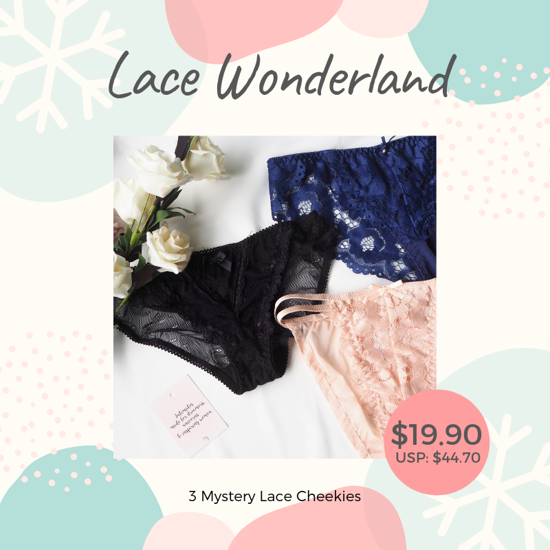 Lace Wonderland Mystery Christmas Gift Set