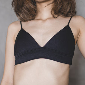 Pamper Me Everyday Bralette in Black