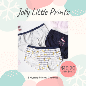 Jolly Little Prints Mystery Christmas Gift Set