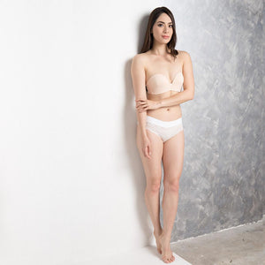 *RESTOCKED* Non-Slip Strapless Everyday Bra (Nude) (Size 36A, 34C, 36C ONLY)