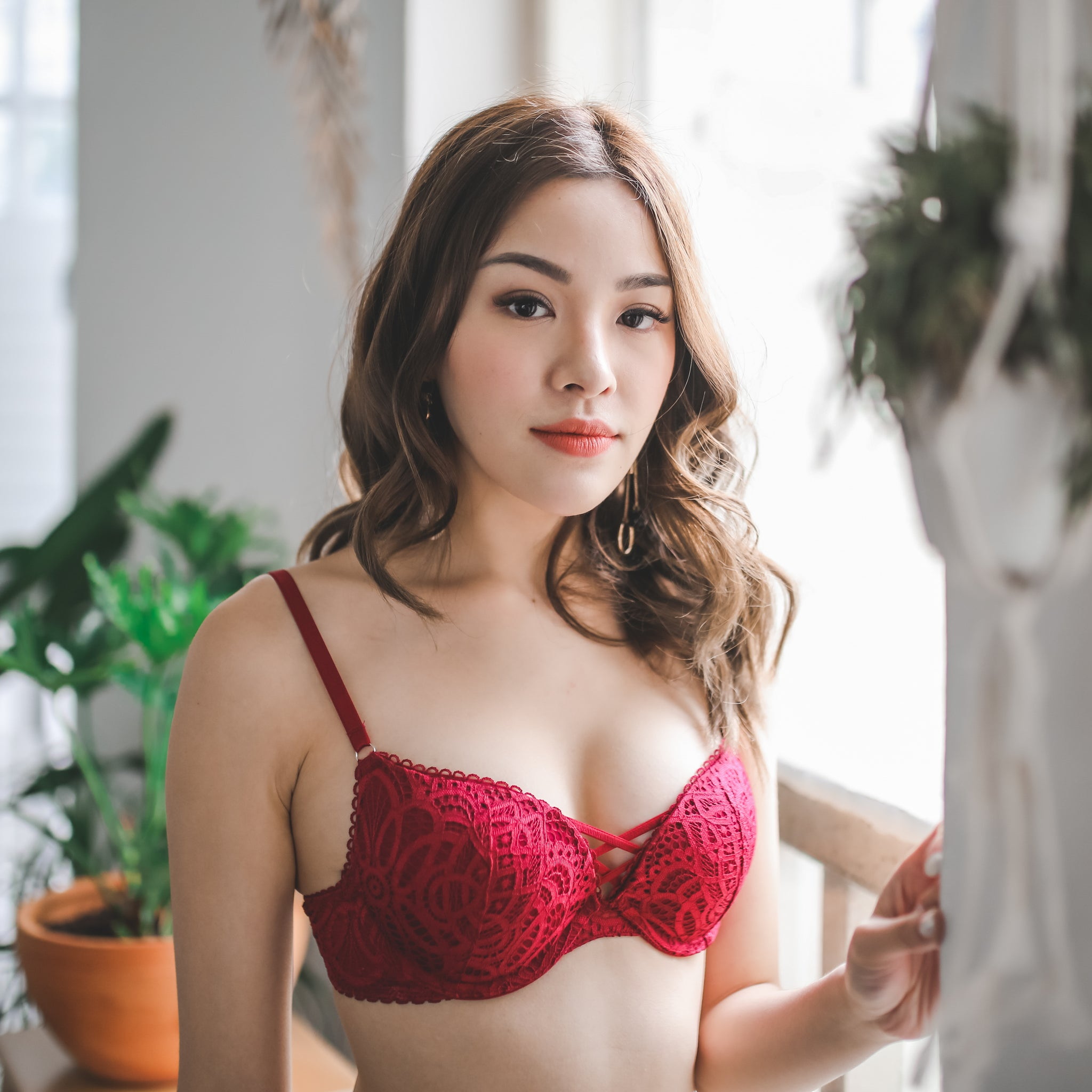 d780822faab Cross My Heart Super Push Up Bra in Spicy Red (L ONLY) - I'M IN ...
