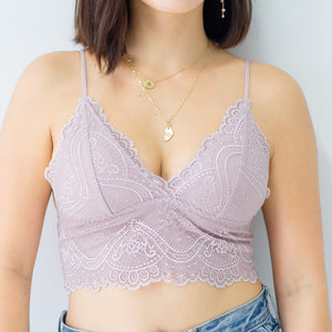Sweet Fantasy Midi Bralette in Pink