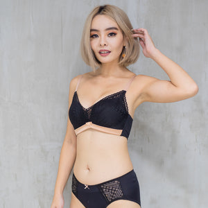 Lavish in Lace Bikini Cheeky in Black
