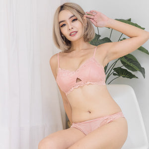 Blooming Love Lace Cheeky in Pink