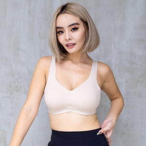 *BACKORDER OPEN* Air-ee Seamless Bra in Nude (Superfine Cotton)