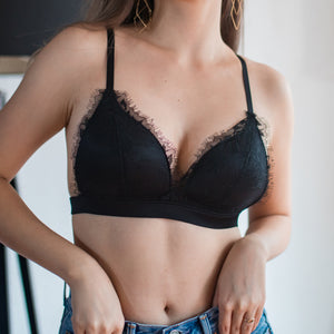 No-Wire Ultra Freedom T-Shirt Bra in Black