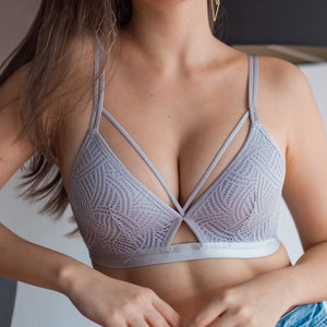 No-Wire Ultra Sexy T-Shirt Bra in Grey