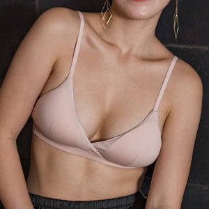 All-Day Comfort Bralette in Blush