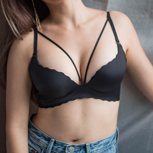 Diva Divine Seamless Wireless Push Up Bra
