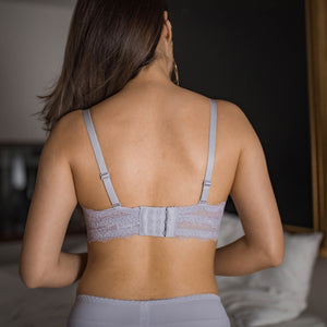 Sweetheart 2-Way Super Push Up Wireless Bra in Lavender (M & XL Only)