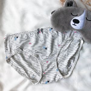 Fruitilicious Boyleg Cheeky in Grey