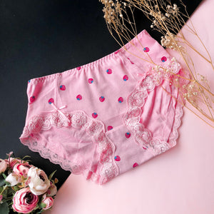 Berry Lovely Boyleg Cheeky in Pink