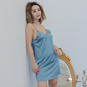 Cosy Queen! V-Back Nightgown in Fresh Glow