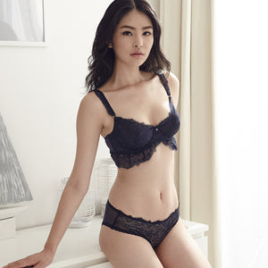 *RESTOCKED* Bitten Love Bralette in Midnight Blue