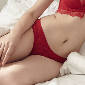 Red Romance Bikini Cheeky