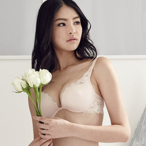 *RESTOCKED* Carried Away Super Push Up Bra in Nude (Size 36B ONLY)