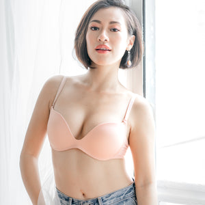 Classic-Soft Wireless T-Shirt Bra in Pink