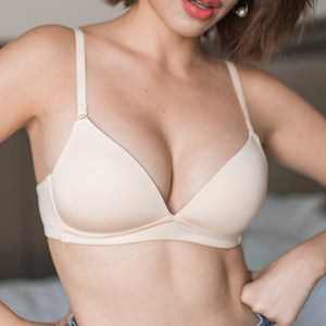 Ultra Soft Freedom Wireless Bra (Modal® Fabric) in Nude