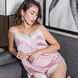 On Cloud Nine! Sleepwear Set in Blush