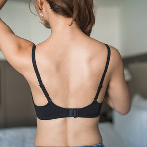 Ultra Soft Freedom Wireless Bra (Modal® Fabric) in Black